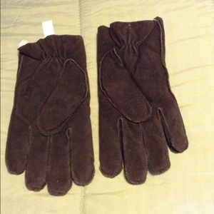 Men's Suede Leather Isotoner  Lined Gloves XL